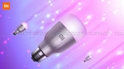 Xiaomi Mi LED Smart Bulb crowdfunding debuts at Rs. 999