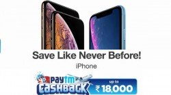Paytm cashback offers available on iPhones