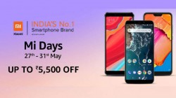 Amazon Mi Day Sale (May 27th to 31st): Get up to Rs. 5,500 off on Xiaomi smartphones