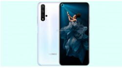 Honor 20 Gradient White color option surfaces online