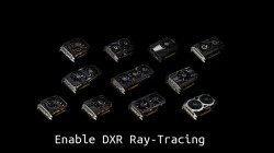 How to enable DXR Ray Tracing on GTX 10 series pascal GPUs