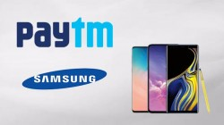 Paytm Mall Samsung Super Sale: Grab Galaxy S10 series with up to Rs. 14,000 cashback