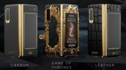 Samsung Galaxy Fold Game of Thrones Edition by Caviar looks luxurious