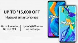 Amazon Special offers on Huawei smartphones