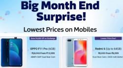 Flipkart Surprise Big Month End Sale Offers – Price Drop On Popular Smartphones
