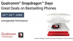 Flipkart Qualcomm Snapdragon Days Sale Is Here – Buy Powerful Smartphones At Huge Discounts