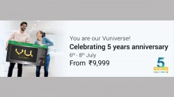 VU Celebrating 5 Year Anniversary With Exciting Offers On Flipkart