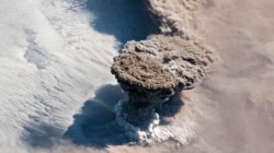 NASA Shares Image Of Volcanic Eruption From International Space Station
