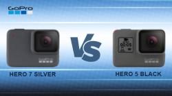GoPro Hero 7 Silver Vs Hero 5 Black - Which One You Should Prefer