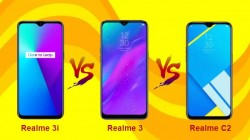 Realme 3i Vs Realme 3 Vs Realme C2: What's The Difference?