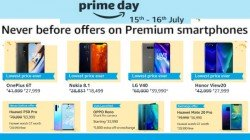 Amazon Prime Day Offers On Premium Smartphones - Nokia 8.1, Samsung Galaxy S10, OnePlus 6T and more