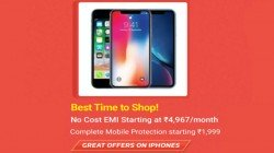 Flipkart Hosts Apple iPhone Big Shopping Days – Offers And Discounts You Can Get