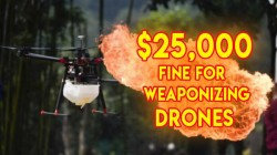 FFA Warns US Citizens Against Use Of Weaponized Drones; Will Charge $25,000