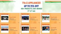 Flipkart Independence Day Sale – Grab Smart TVs At Up To 60% Off
