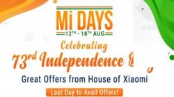 Flipkart Mi Days Sale (Aug 12 - 18) – Irresistible Offers On Xiaomi Smartphones