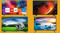 Flipkart National Shopping Days Sale On TVs – Xiaomi, Samsung, LG, Kodak And Other Smart TVs