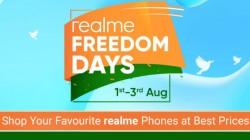 Flipkart Realme Freedom Days Sale Offers – Realme 3 Pro, Realme X, Realme C1, Realme 3i And More
