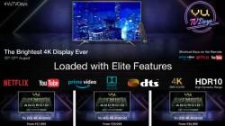 Flipkart Vu TV Days – Irresistible Discount On Premium Smart TVs