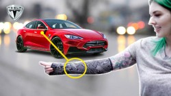 Woman Bio-Hacks Her Arm; Turns It Into Tesla Car Key