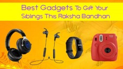 Best Gadgets To Gift Your Siblings This Raksha Bandhan