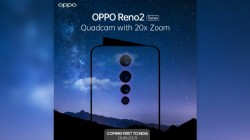 Oppo Reno 2 With 20x Digital Zoom Quad Cameras India Launch Confirmed For August 28