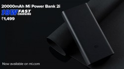 Xiaomi 20000mAh Mi Power Bank 2i Launched – Price In India, Colors, Availability And More