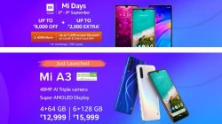 Amazon Mi Days Sale: Offers You Can Get On Xiaomi Smartphones