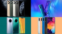 Most Trending Phones Of Last Week: Huawei Mate 30 Pro, iPhone 11 Pro, Galaxy A50, Realme XT And More