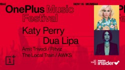 OnePlus Music Festival To Feature Performances From Katy Perry, Dua Lipa