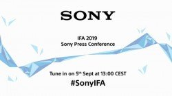 Sony IFA 2019 Launch Event – Watch Live Stream From Here