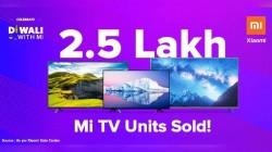 Xiaomi Records Over 250,000 Mi TVs Sale During Festive Season Sale