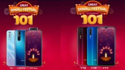 Diwali Offer: Buy vivo Smartphones For Rs. 101 Down Payment At Offline Stores