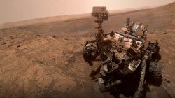 NASA Curiosity Mars Rover Clicks Selfie With Martian Backdrop