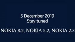 Nokia Might Launch Nokia 8.2, Nokia 5.2, And Nokia 2.3 On December 5