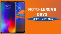 Flipkart Moto And Lenovo Days Sale: Offers You Can Avail On Select Smartphones