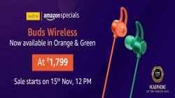 Realme Buds Wireless Spotted In New Colors; Sale Starts November 15 Via Amazon