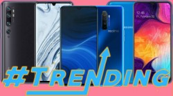 Most Trending Smartphones Of Last Week: Redmi K30, Redmi Note 8, Galaxy A50, vivo S1 Pro And More