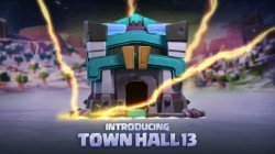 Clash Of Clans Town Hall 13 Announced With Winter Update