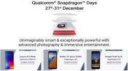 Flipkart Qualcomm Snapdragon Days Year End Sale Offers And Discounts On Powerful Smartphones