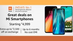 Amazon Great Deals On Mi Smartphones: Offers and Discounts On Redmi Note 8, Redmi K20 Pro And More