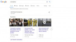 Google Rolls Out SOS Alert For All Coronavirus Search Results