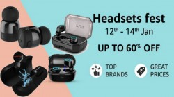 Headsets Fest Online At Amazon India Heavy Discounts On True Wireless Earbuds