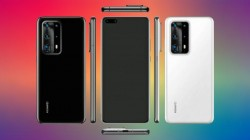 Huawei P40 Pro Leaked Render Shows Penta Camera Setup, Punch Hole Display