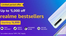 Amazon Offers Up To Rs. 5,000 Discount On Realme Smartphones Right Now