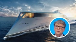 Bill Gates Becomes World's First Person To Buy $644 Million Hydrogen-Powered Superyacht
