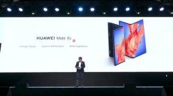 Huawei Mate Xs Launched With Foldable FullView Display, Redesigned Hinge