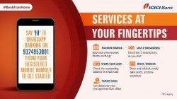 ICICI Bank WhatsApp Service Launched: How To Use