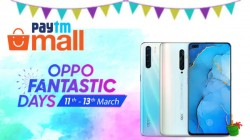 Paytm Mall Oppo Fantastic Days Sale: Oppo Reno2Z, Oppo Reno2, Oppo A31, Oppo A5s And More