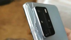 Huawei P40 Pro With Shattered Rear Panel Appears Just After Launch
