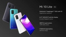 Xiaomi Mi 10 Lite With Snapdragon 765G, Quad-Cameras Launched